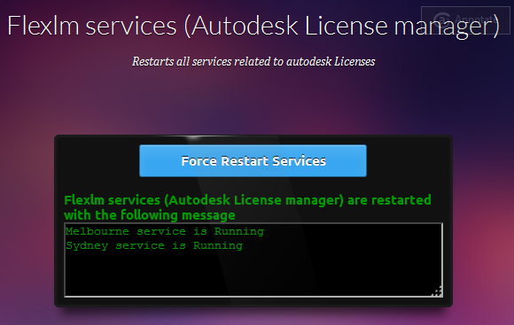 Autodesk License Manager